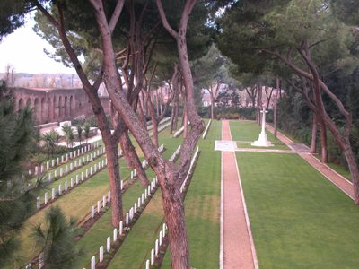 Commonwealth War Cemetery Rome