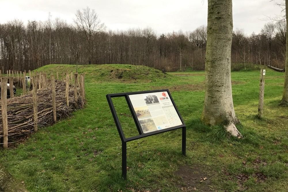Cycle Route Battle of the Ringbeek, Information Board Sint-Hubert