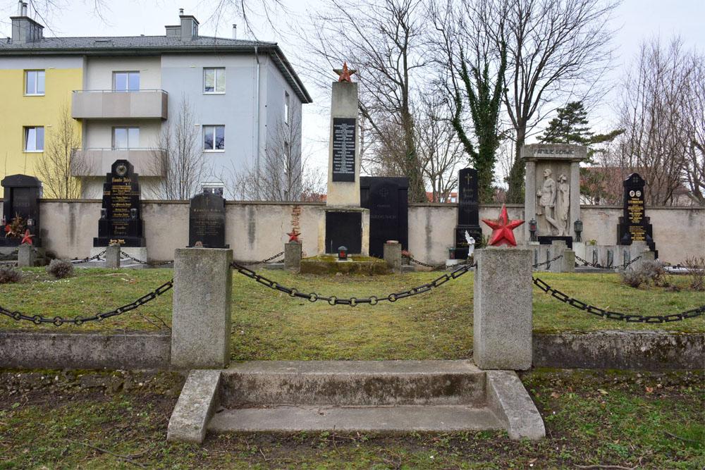 Massagraf Sovjet Soldaten Wenen
