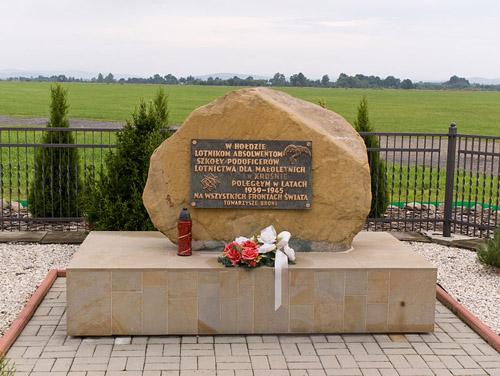 Monument Onderofficieren Vliegschool Krosno