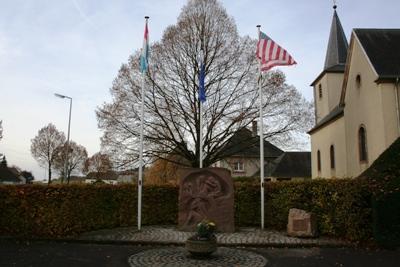 Monument 90th US Infantry Division Berlé