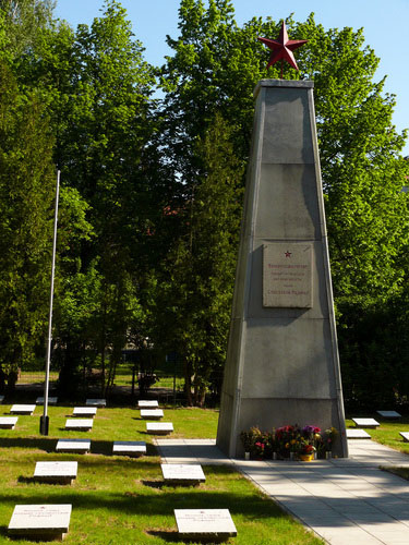 Soviet War Cemetery Anklam