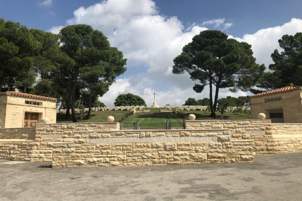 Canadian War Cemetery Agira