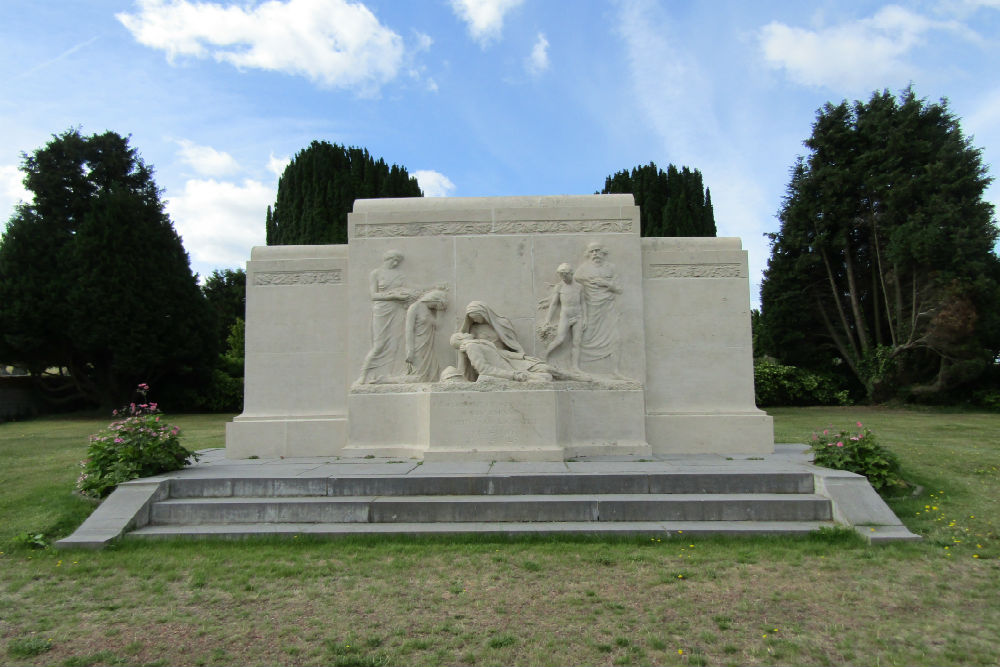War Memorial Cemetery Sint-Gillis