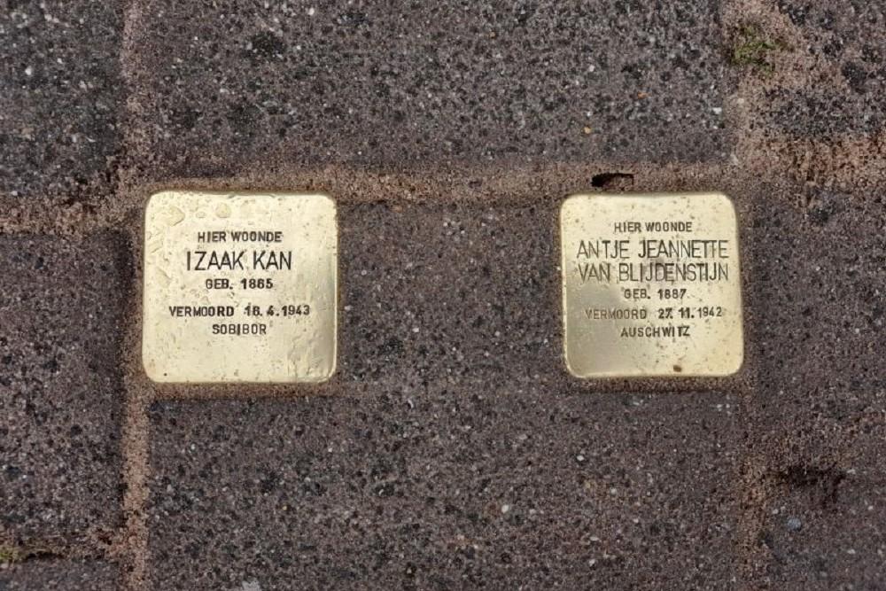 Stumbling Stones Zijpendaalseweg 1D Arnhem