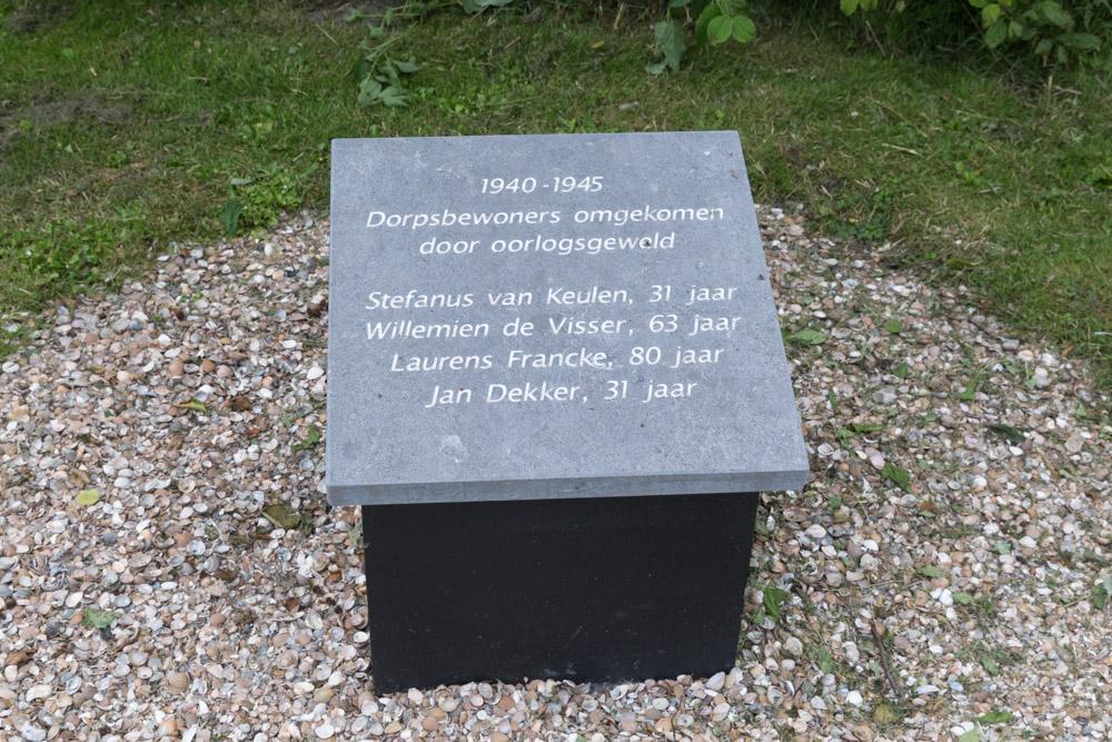 Monument burgerslachtoffers Aagtekerke