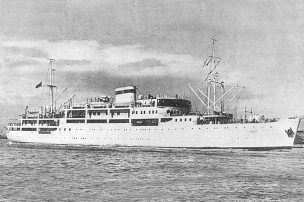 Shipwreck Hospital Ship