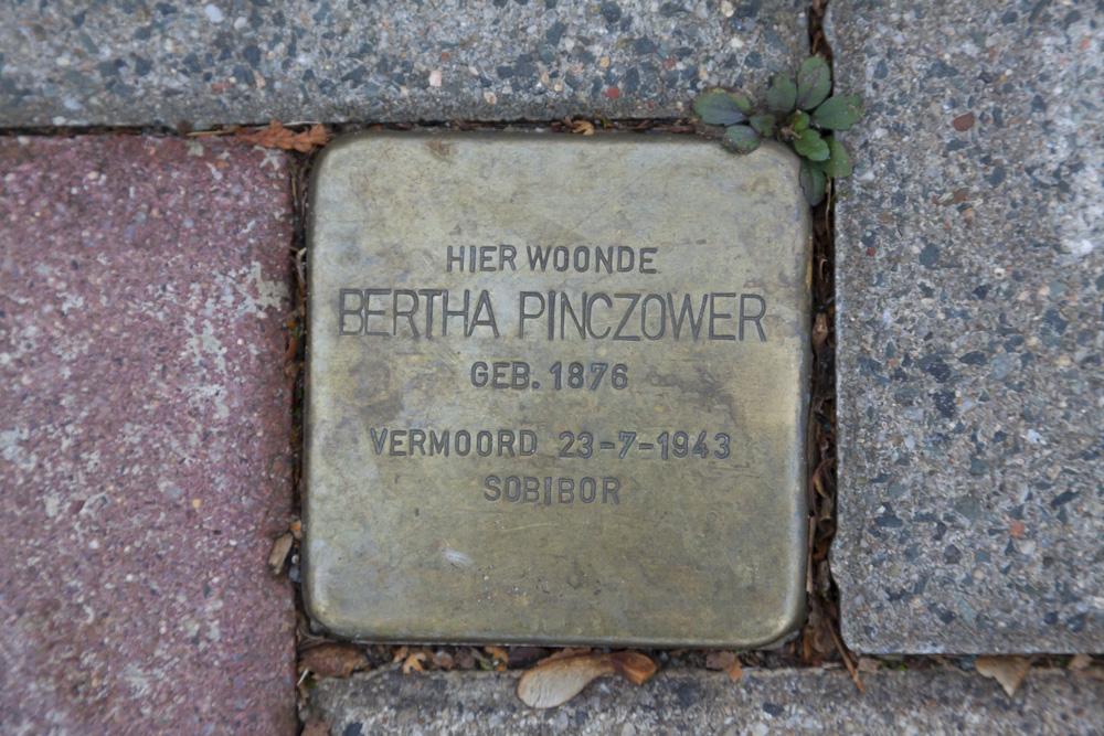 Stolperstein Burgemeester Weertsstraat 93