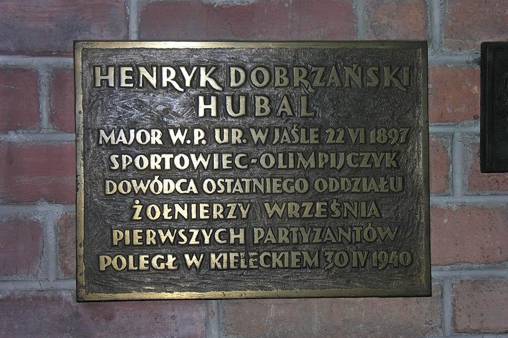 Plaquette Henryk Dobrzański