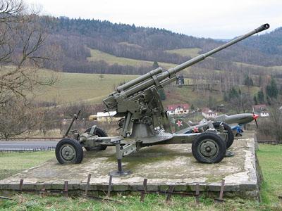 85mm M1939 (52-K) Anti-Aircraft Gun