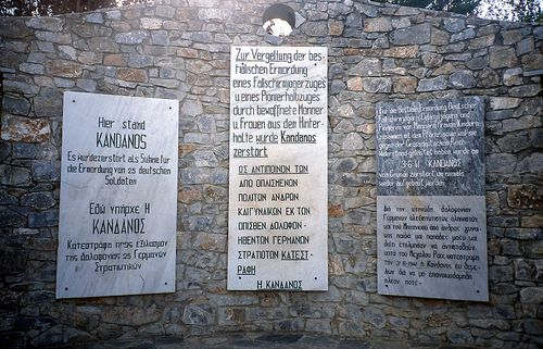 Memorial Destruction of Kandanos
