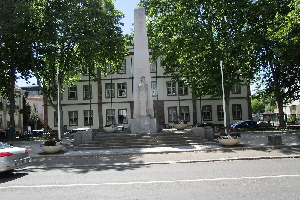 Oorlogsmonument Mulhouse