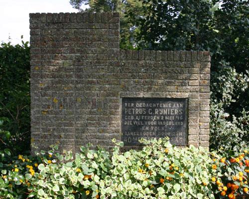 Monument Petrus G. Rijniers