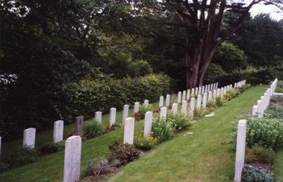Oorlogsgraven van het Gemenebest Falmouth Cemetery