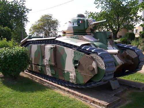 Char 1 Bis Zware Tank Stonne