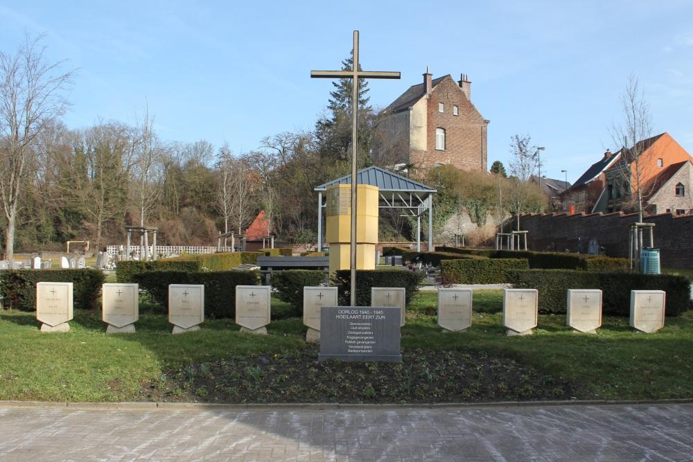 Oorlogsmonument Begraafplaats Hoeilaart