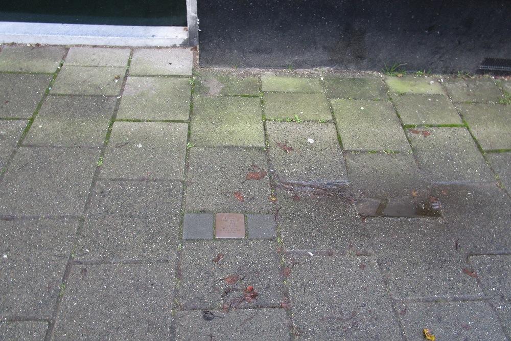 Herdenkingssteen Heemskerckstraat 20