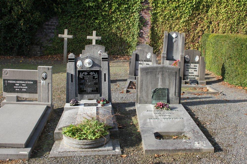 Veteran War Graves Tombeek