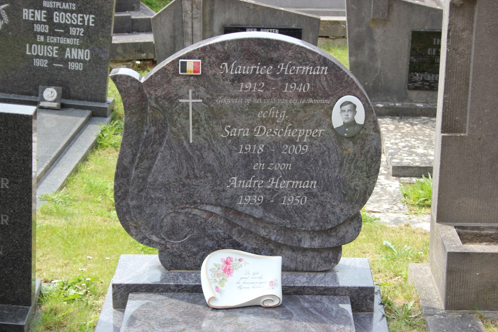 Belgian War Grave Sint-Denijs-Boekel
