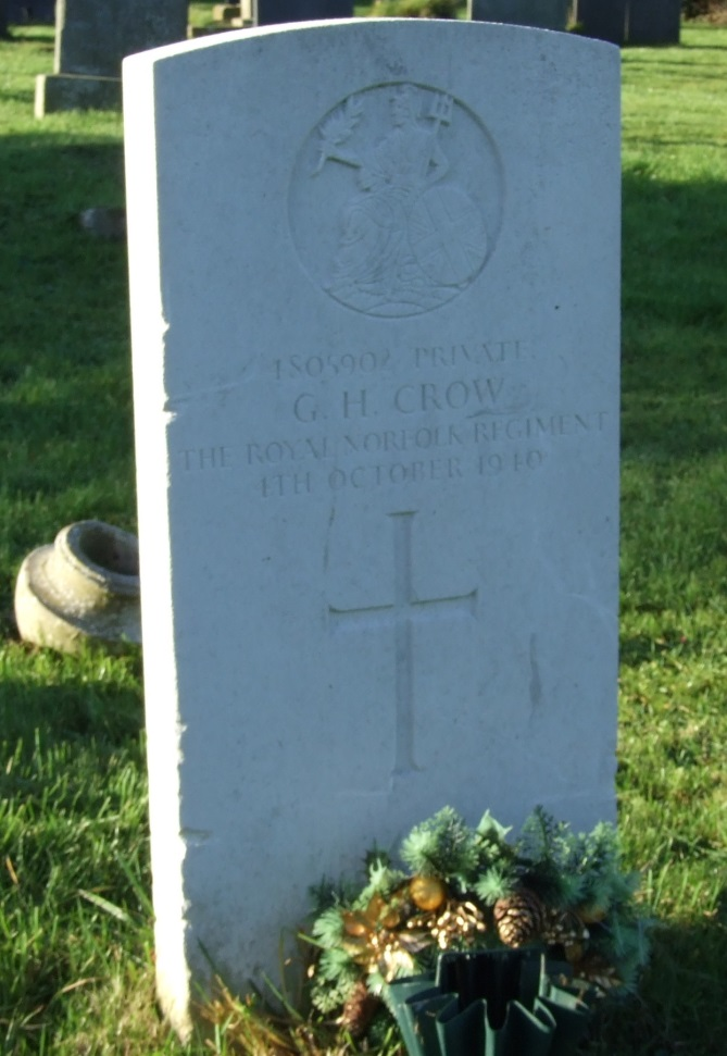 Commonwealth War Grave St. Sebastian Churchyard