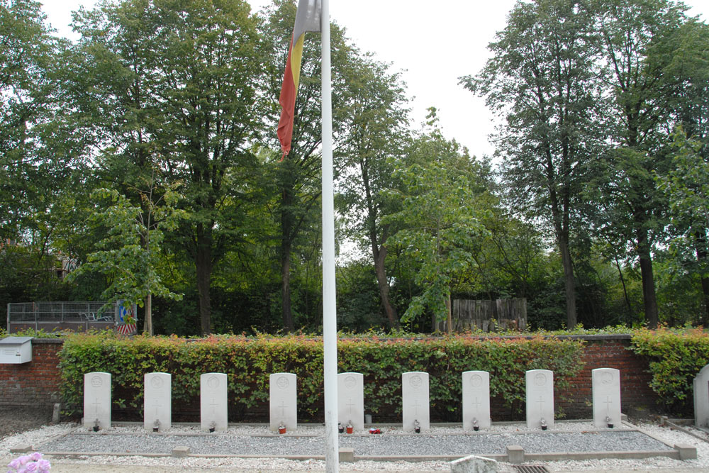 Commonwealth War Graves Wuustwezel