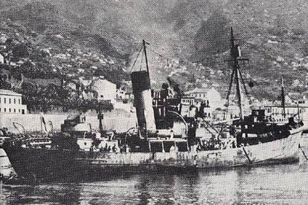 Shipwreck H.M.S. Lady Shirley