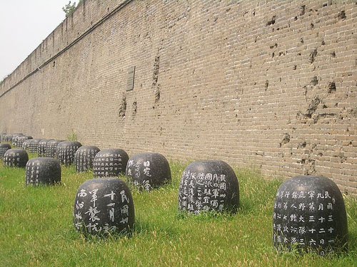 Granaatinslagen Fort Wanping
