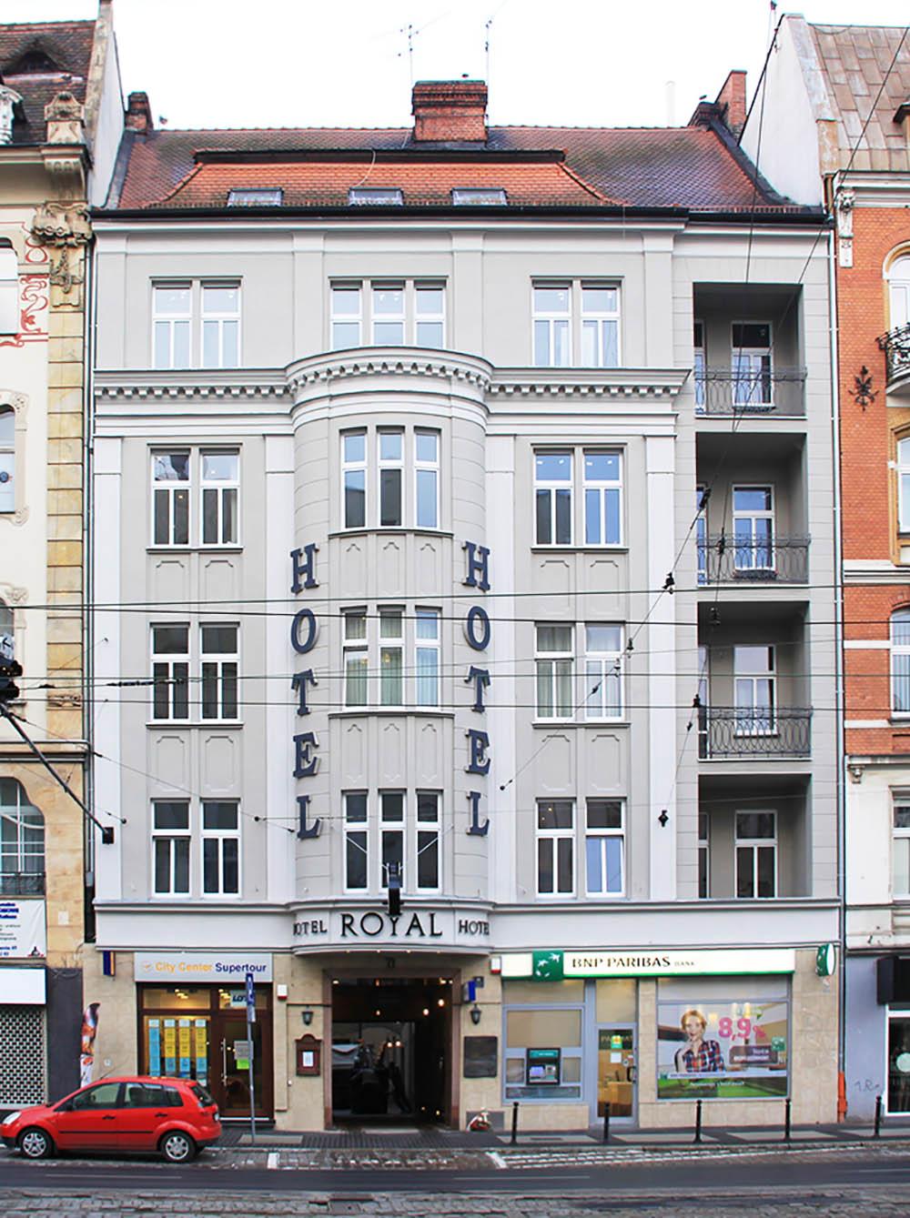 Former Headquarters Polish High Command 1918-1919 Hotel Royal