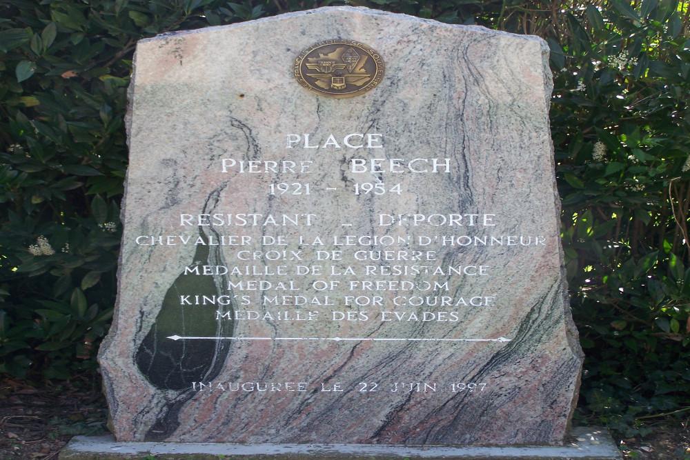 Memorial Pierre James Henri Beech