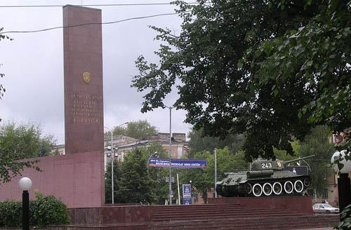 Monument 10e Garde Uralsko-Lvovskaya Vrijwillige Tank Divisie
