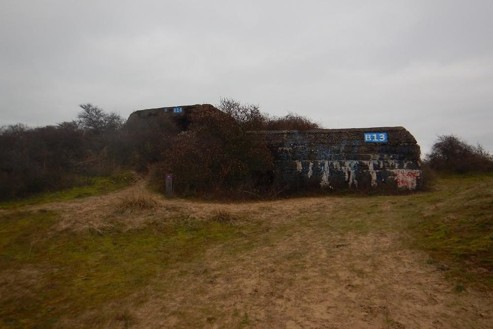 Stützpunkt Anna, Franse artilleriebunker met opslagplaats