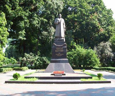 Grave General Nikolai Fyodorovich Vatutin