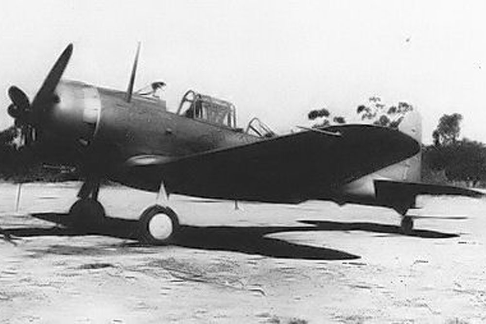 Crashlocatie Douglas A-24 Banshee