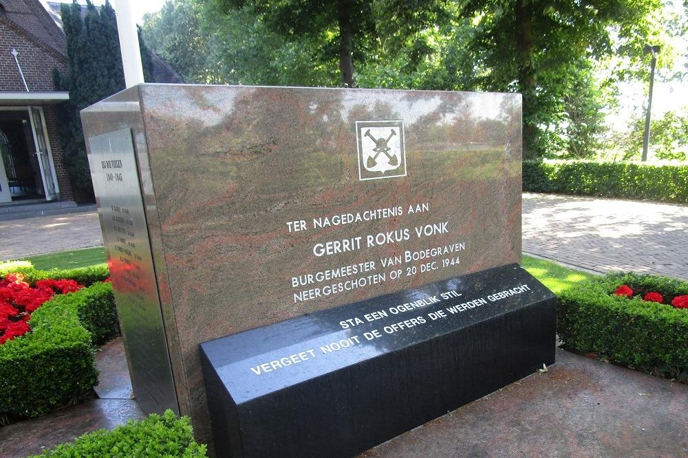 Oorlogsmonument Bodegraven