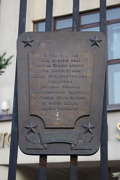Memorial Assassination 1943