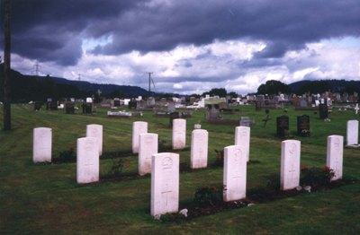 Commonwealth War Graves Abergavenny Cemetery