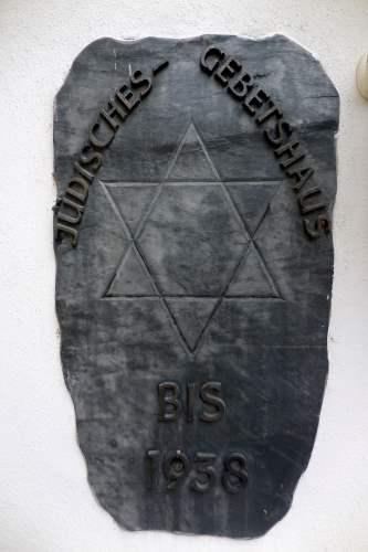 Plaque Synagogue Rhens