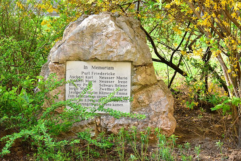 Monument Omgekomen Bewoners 11 December 1944