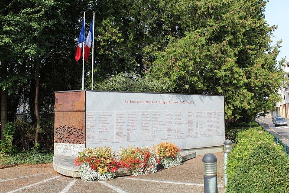 Monument Noord-Afrikaanse Oorlogen Jura