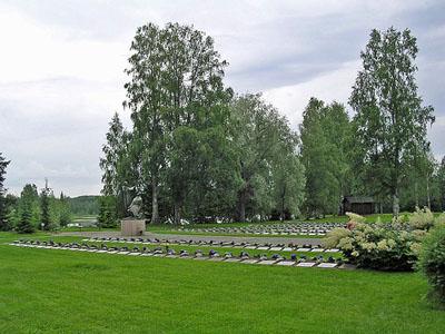 Finse Oorlogsbegraafplaats Lieksa