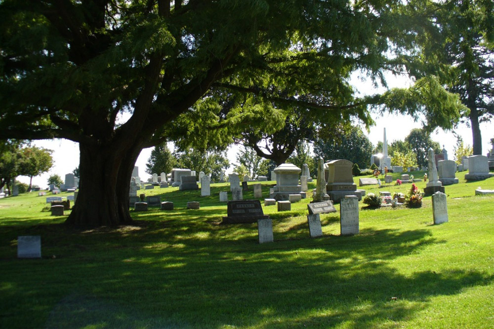American War Graves McPherson Cemetery