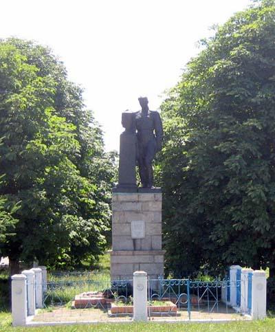 Mass Grave Soviet Soldiers Borovytsya
