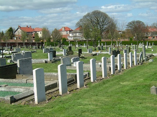 Commonwealth War Graves Seaham Cemetery