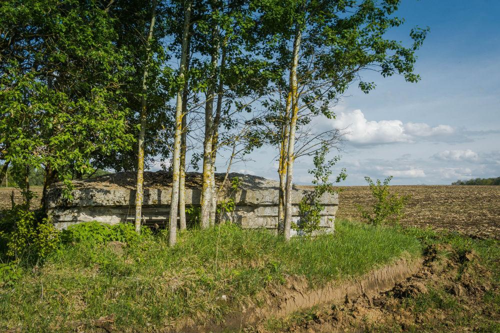 Vernietigde Bunker Merkulievo