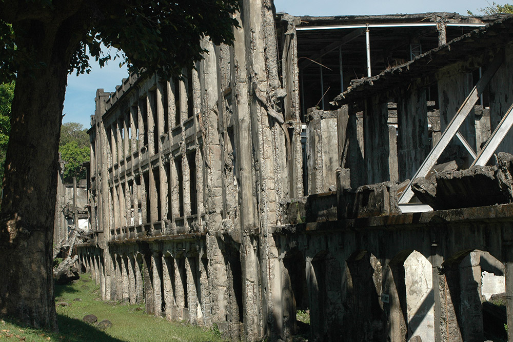 Corregidor - Middleside Barracks
