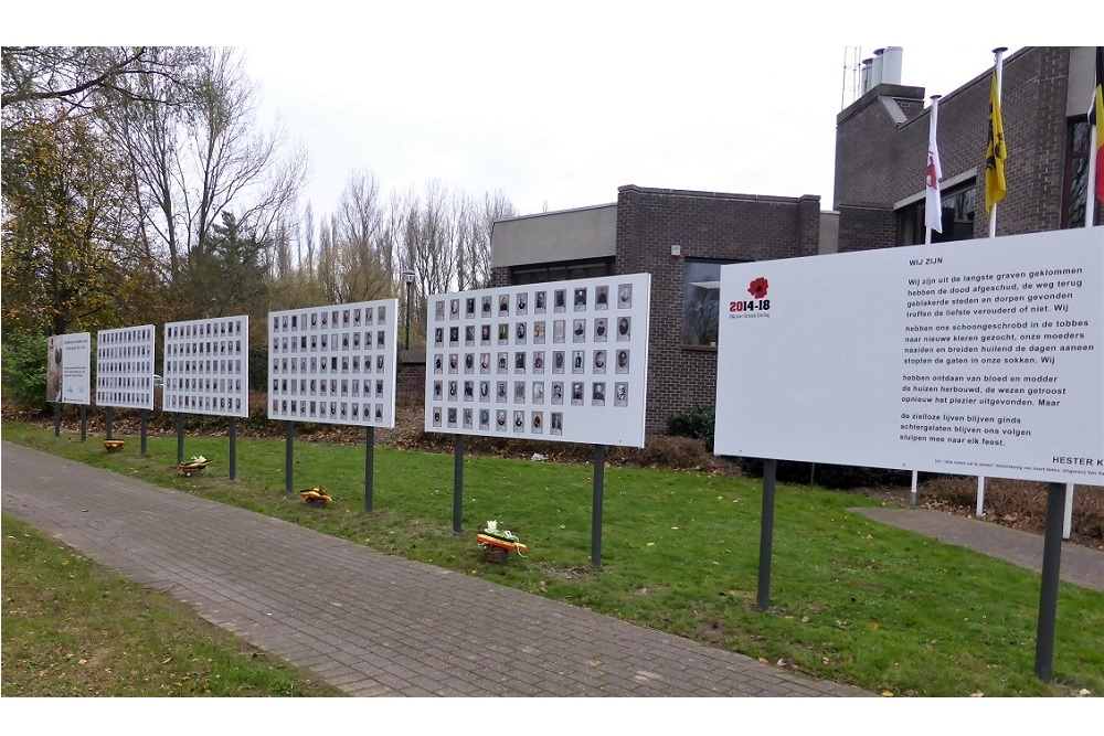 Remembrance Wall Steenberg Erpe-Mere