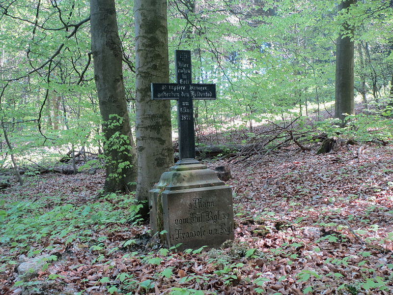 Collective Grave Franco-Prussian War Stiftswald Sankt Arnual