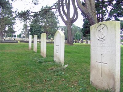 Pools Oorlogsgraf Morriston Cemetery