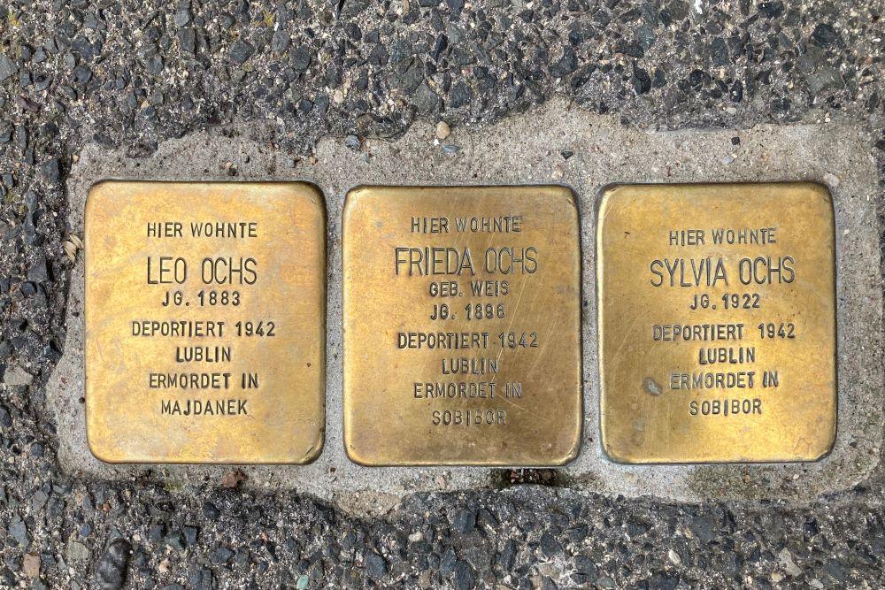 Stumbling Stones Stolberger Straße 26