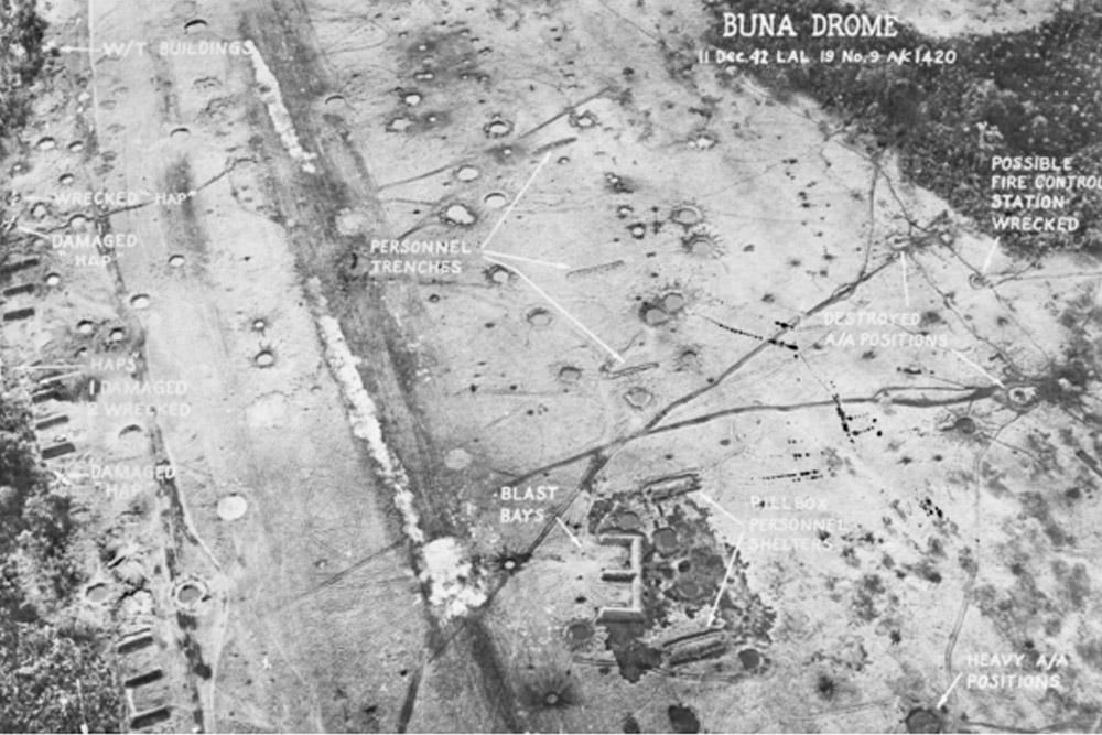 Old Japanese Airfield Buna